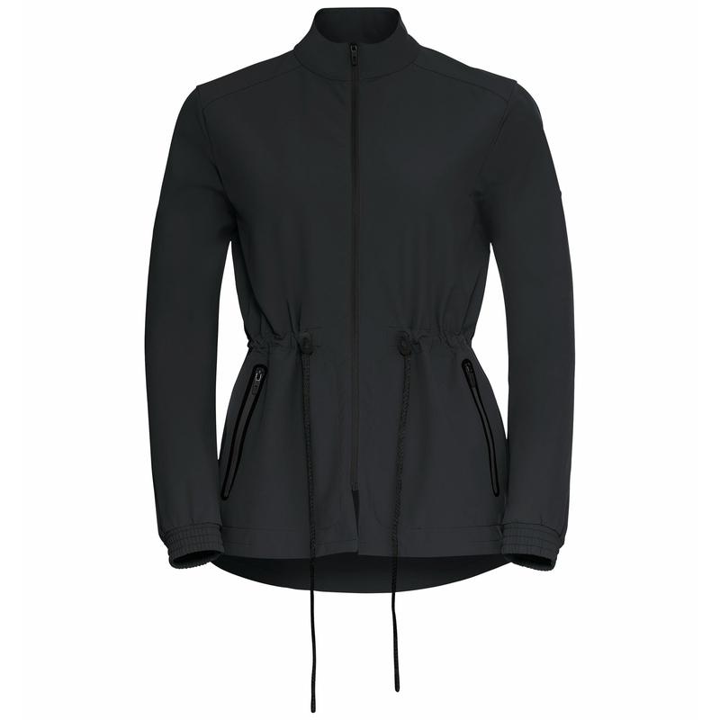 Damen HALDEN Jacke, black, large
