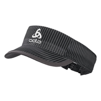Visor cap CERAMICOOL LIGHT, odlo graphite grey - AOP SS19, large