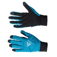 Gloves ZEROWEIGHT Warm, blue jewel - black, large