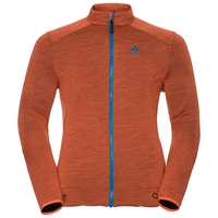 Men's SIERRA Midlayer, orangeade, large