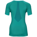 SUW Top Crew neck s/s PERFORMANCE Light, pool green - crystal teal, large