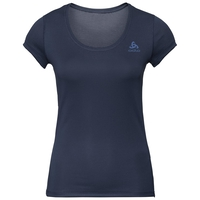 ACTIVE F-DRY LIGHT-basislaag-T-shirt voor dames, diving navy, large