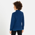 ROYALE KIDS 1/2 Zip Midlayer, estate blue, large