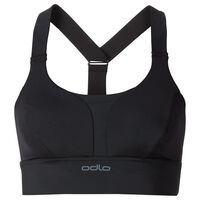 Feminine MEDIUM Sports Bra women, black, large