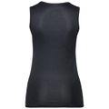 SUW TOP V-neck Singlet ACTIVE Cubic LIGHT, ebony grey - black, large