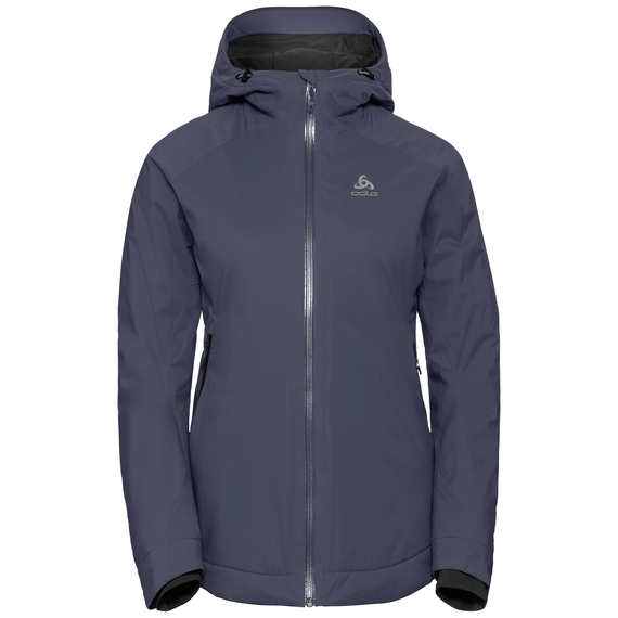 Jacket insulated FLOW COCOON ZW WATERPROOF, odyssey gray, large