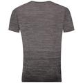 BL Top Crew neck s/s VIGOR Seamless, odlo steel grey - black, large