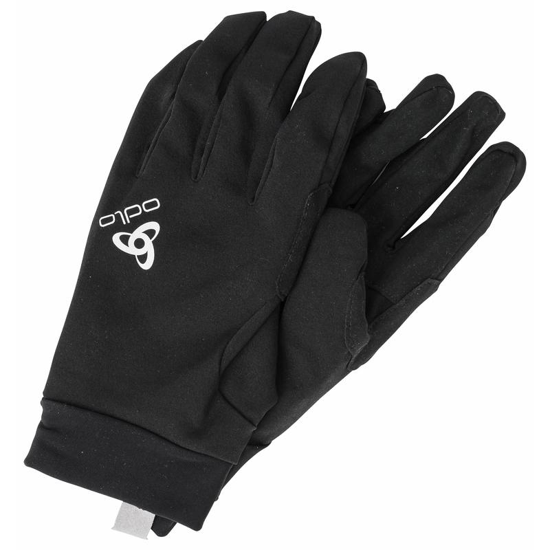 The Waterproof Light gloves, black, large