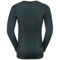 Men's ODLO FUTURESKIN Long-Sleeve Base Layer Top, stormy weather - black, large