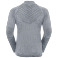 Midlayer 1/2 zip X POD HYBRID, grey melange, large