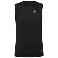 Women's NATURAL + LIGHT Base Layer Singlet, black, large