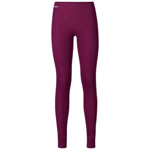 Naadloze onderkleding Broek active originals Warm GOD JUL PRINT, magenta purple, large
