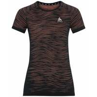 Women's BLACKCOMB CERAMICOOL T-Shirt, black - space dye, large