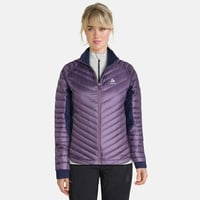 Jacket insulated NEON COCOON, vintage violet - diving navy, large
