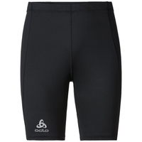 SLIQ running Tights short men, black, large