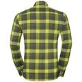 Shirt NIKKO CHECK, acid lime - four leaf clover - climbing ivy - check, large