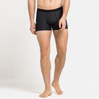 Men's ACTIVE F-DRY LIGHT ECO Sports Underwear Boxer, black, large
