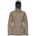 Women's HOLMENKOLLEN 2L Hardshell Jacket, fallen rock, large