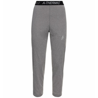 Damen ACTIVE THERMIC 3/4- Leggings, grey melange, large
