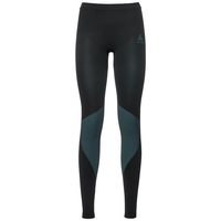 SUW Bottom Pant PERFORMANCE Essentials LIGHT, black - blue radiance, large