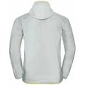 Herren FLI WINDPROOF DWR Jacke, odlo silver grey, large