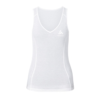 Originals light baselayer singlet 2-pack voor dames, white, large
