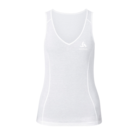 Originals light baselayer singlet 2 pack women, white, large