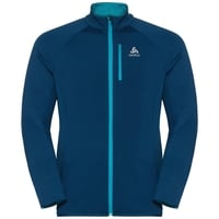 Midlayer full zip CARVE WARM, poseidon, large