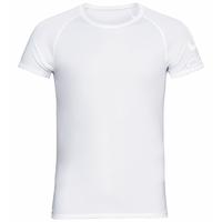 Men's ACTIVE F-DRY LIGHT LOGO ECO Base Layer T-Shirt, white, large