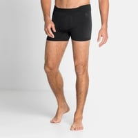 Men's PERFORMANCE WARM ECO Sports Underwear Baselayer Boxers, black - odlo graphite grey, large