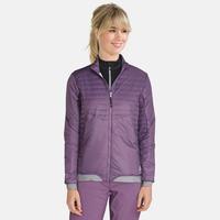 COCOON S ZIP IN-jas voor dames, vintage violet, large
