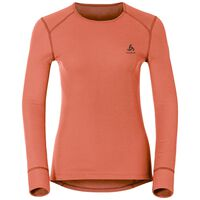 Active Originals Warm langärmeliges Shirt mit Rundhalsausschnitt, hot coral, large