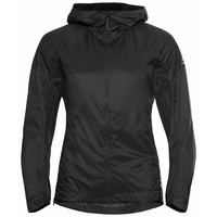 Women's FLI DUAL DRY WATER RESISTANT Hiking Jacket, black, large