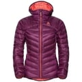 Women's HOODY COCOON N-THERMIC WARM Insulated Jacket, pickled beet, large