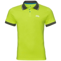 Polo NIKKO da uomo, acid lime, large