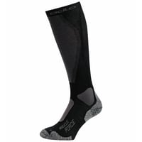 Unisex MUSCLE FORCE ACTIVE LIGHT Ski Socks, black - odlo graphite grey, large