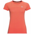T-shirt BLACKCOMB PRO pour femme, hot coral - space dye, large