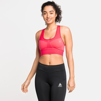 Women's SEAMLESS MEDIUM Sports Bra, siesta, large