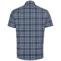 NIKKO CHECK Hemd, faded denim - blue indigo - diving navy - check, large