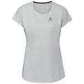 Women's MILLENNIUM LINENCOOL T-Shirt, light grey melange, large