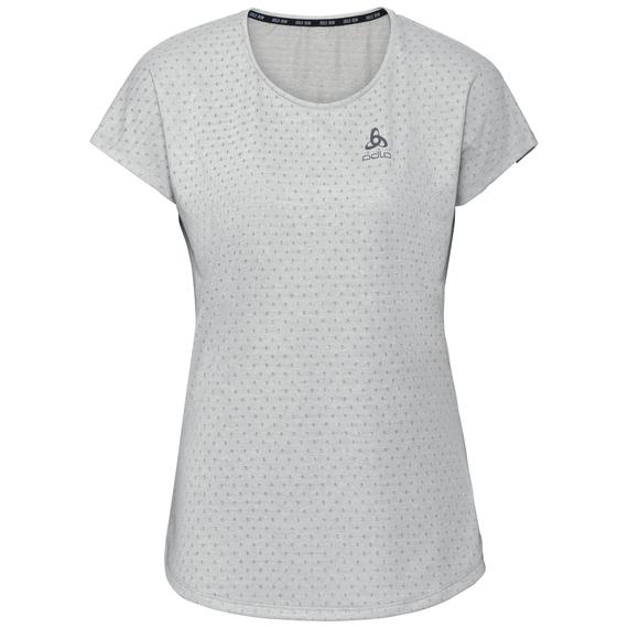 Damen MILLENNIUM LINENCOOL T-Shirt, light grey melange, large