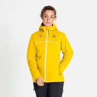 Women's SLY Insulated Jacket, sulphur, large