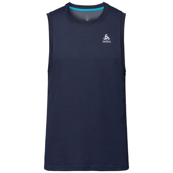 BL TOP Crew neck Tank F-DRY, diving navy, large