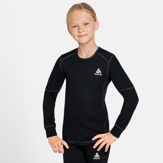 ACTIVE X-WARM ECO KIDS Long-Sleeve Baselayer Top, black, large