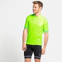 Men's ELEMENT Short-Sleeve 1/2 Zip Cycling Jersey, lounge lizard, large