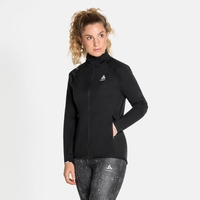 Damen ZEROWEIGHT PRO WARM Laufjacke, black, large