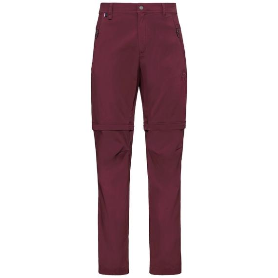 Pants zip-off WEDGEMOUNT, zinfandel, large