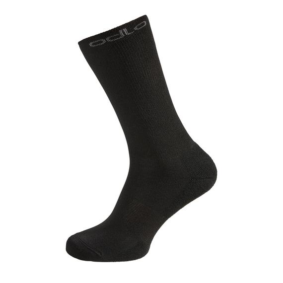 SPORT SOCKS HIGH WARM Long Socks 3-Pack, black, large