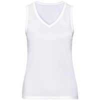 Women's ACTIVE F-DRY LIGHT Base Layer Singlet, white, large