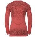 Basislaag top met Ronde hals l/m Blackcomb LIGHT, dubarry - fiery coral, large